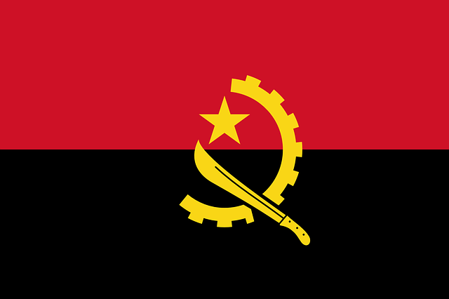 Angola, Flag, National Flag, Nation, Country, Ensign