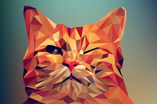Poly, Low, Animal, Vector, Art, Polygon, Illustration