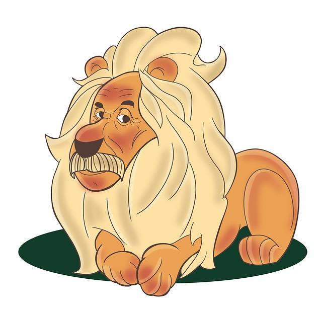 Lion, Einstein, Animal, Jungle, Intelligence