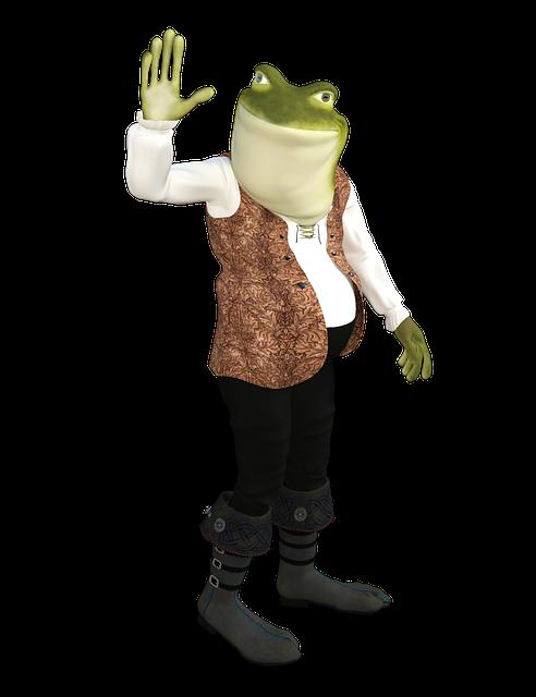 Frog, Cartoon, Animal, Amphibian, Funny, Happy, Quirky