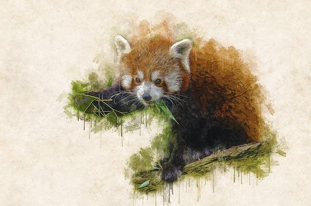 Animal, Branch, Cute, Leaves, Outdoors, Red Panda