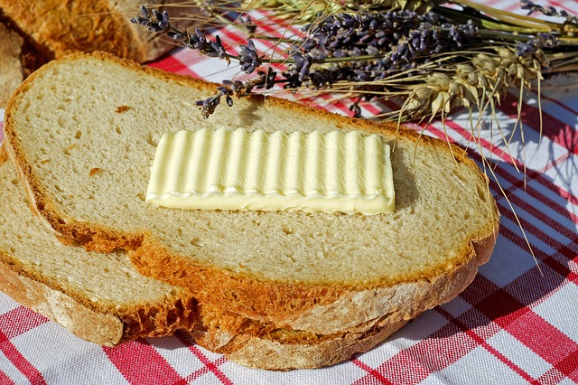 Bread And Butter, Bread, Butter, Animal Product