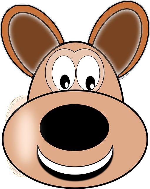 Doh, Puppy, Happy, Pet, Hound, Animal, Cartoon