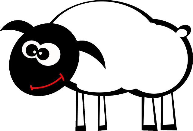 Lamb, Sheep, Animal, Happy, Smile, Mammal