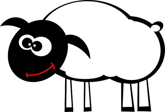 Lamb, Sheep, Animal, Happy, Smile, Mammal