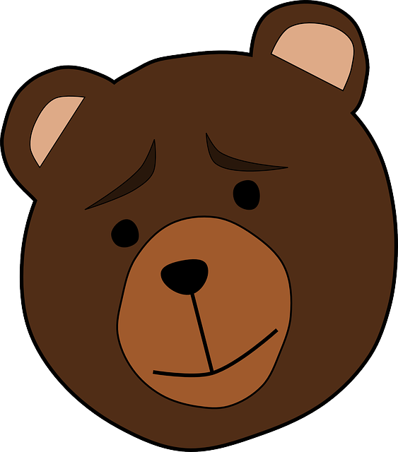 Animal, Bear, Face, Thinking, Worried, Mammal, Brown