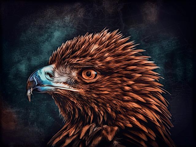 Adler, Animal World, Bird Of Prey, Bird, Digiart