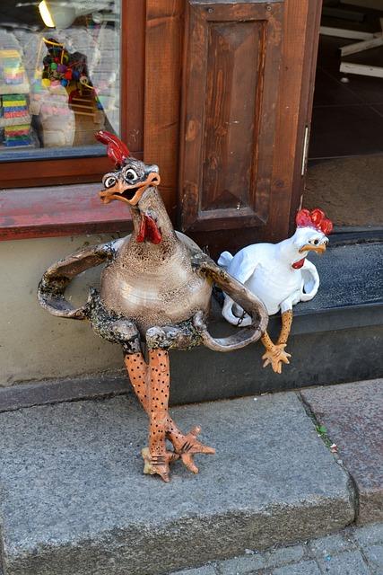 Animals, Chicken, A Joke