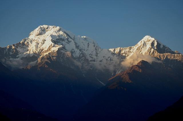 Annapurna, Trekking, Mountain, Sunrise, Bergsport