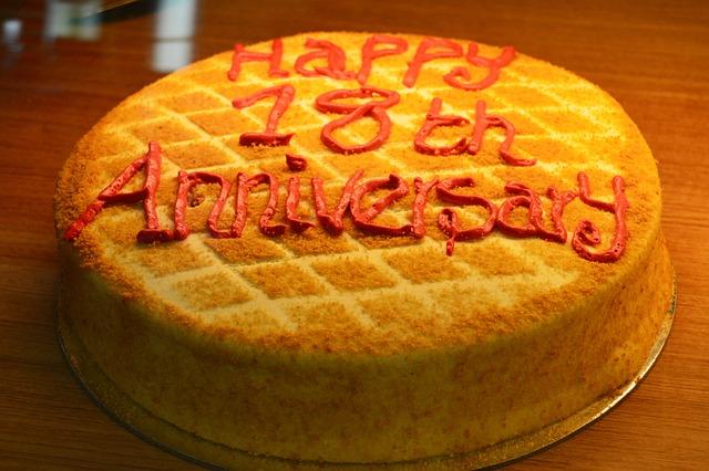 Cake, Pastry, Anniversary, Marriage Anniversary Cake