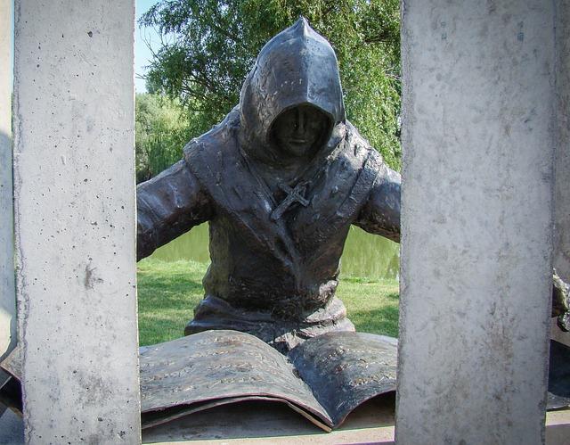 Scribe, Writer, Statue, Anonímusz