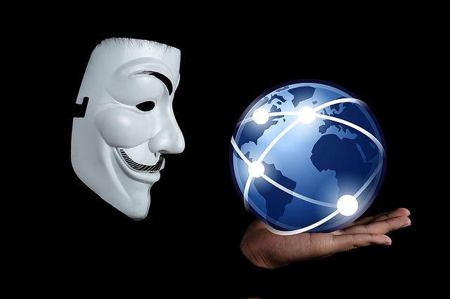 Mask, Internet, Anonymous, Globe, Man, Face, Person
