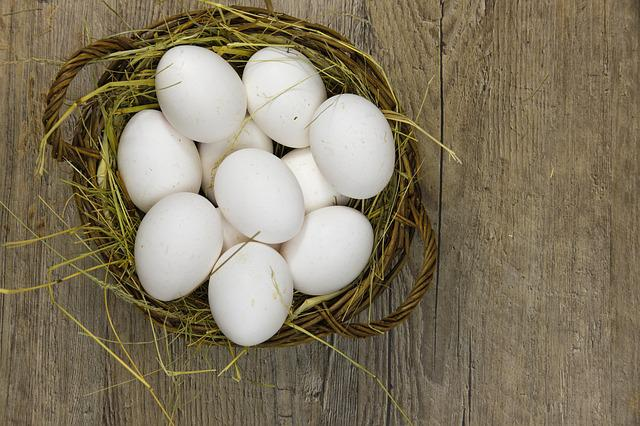 Egg, Answer Questions Per Day, Basket, Food, Nutrition
