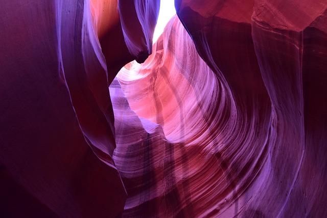 Sandstone, Antelope Canyon, Upper
