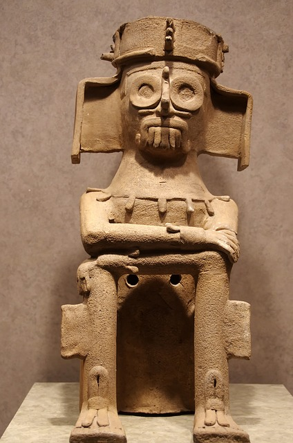 Mexico, Anthropological Museum, Mesoamerica, Pottery