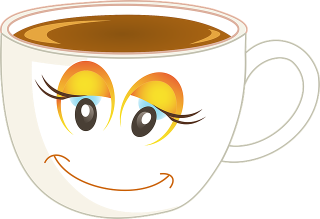 Anthropomorphic, Happy, Female, Woman, Girl, Cup