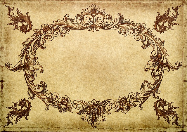 Frame, Antique, Ornament, Vintage, Shabby, Chic