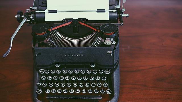 Antique, Classic, Retro, Typewriter, Vintage