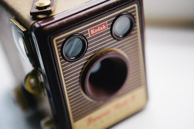 Vintage, Retro, Camera, Kodak, Film, Antique, Style