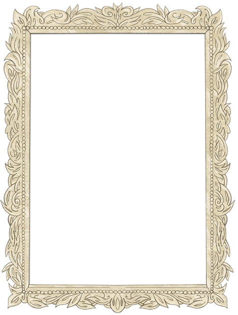 Frame, Photo, Antique, Vintage, Gold, Ornate