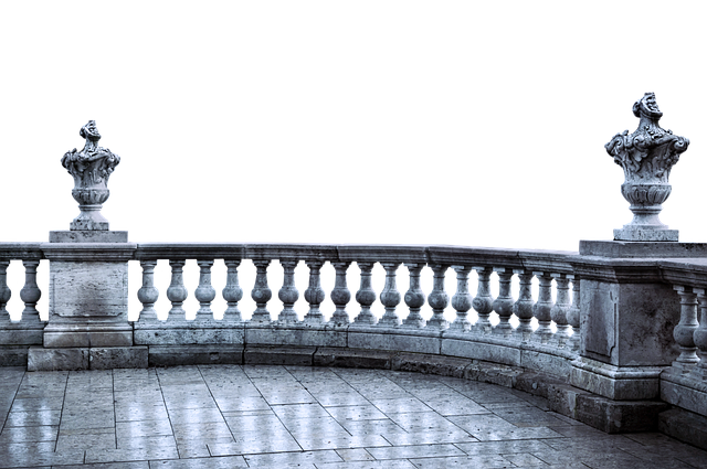 Balcony, Antique, Ground, Pillar, Sculpture, Isolated