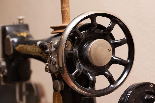 Sewing Machine, Singer, Old, Antique, Crank, Coil