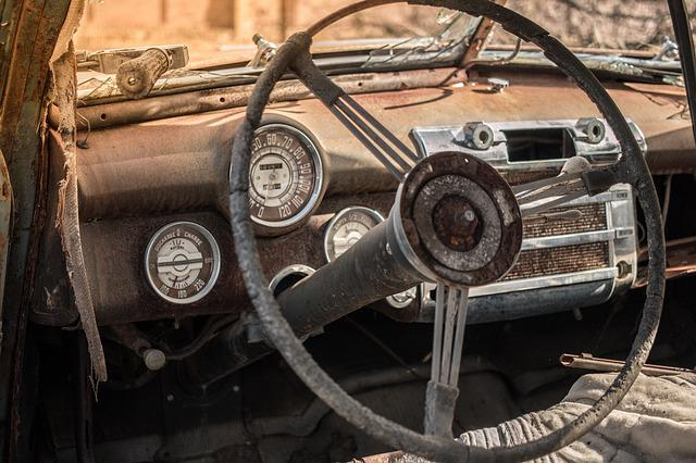 Oldtimer, Old, Auto, Rust, Antique, Rusted, Decay