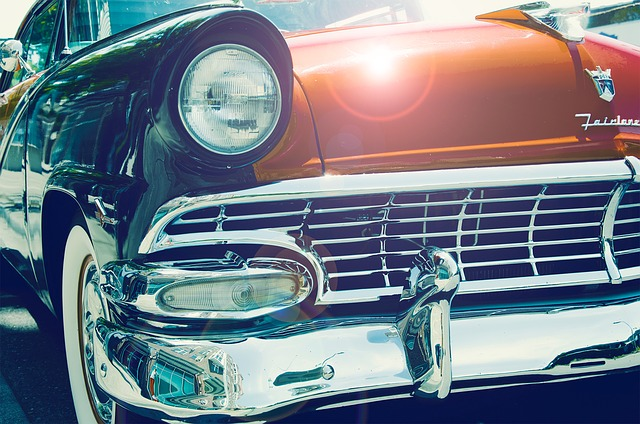Car, Antique, 50s, 60s, Old, Retro, Vintage, Vehicle