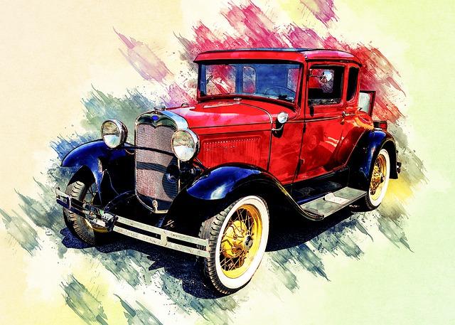 Vintage Car, Antique, Old, Retro, Automobile
