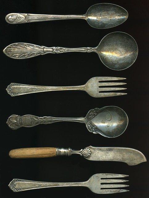 Antique Forks, Antique Spoons, Antique, Fork, Spoon