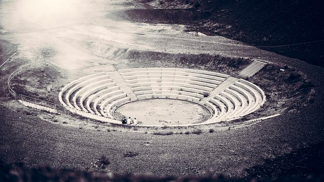 Amphitheater, Theater, Stage, Architecture, Antiquity