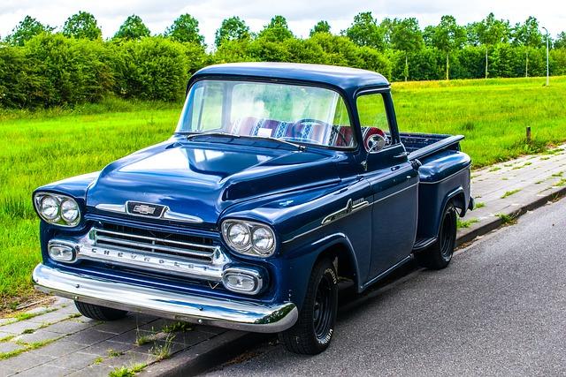 Chevrolet, Apache, Oldtimer, Pickup, Truck, Car
