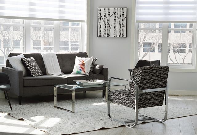 Living Room, Condo, House, Apartment, Home, Interior
