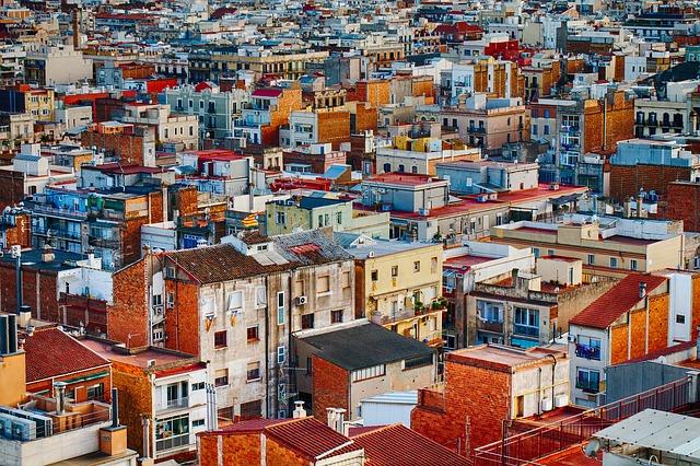 Town, Buildings, Urban, Architecture, Apartment