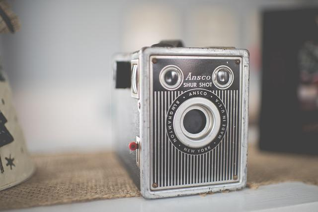 Analogue, Ansco Shur Shot, Antique, Aperture, Blur
