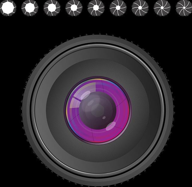 Aperture, Dazzle Row, Lens, Photography, Photograph