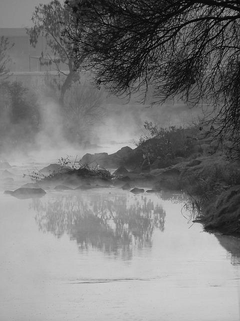 Apies River, Pretoria, Winter Morning