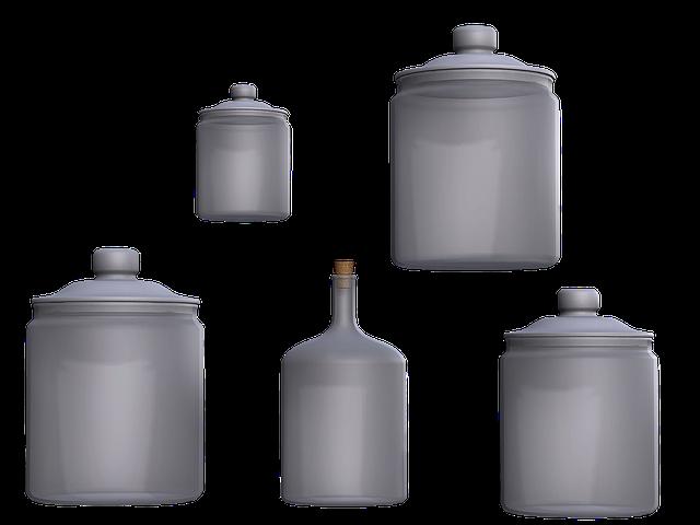 Glass, Glasses, Transparent, Storage, Apothecary Jars