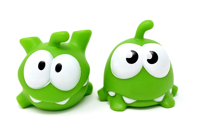 Cut The Rope, Figure, Funny, Cute, Mobile Game, App