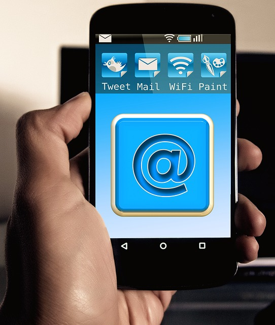 Mail, Email, At, Smartphone, Mobile Phone, App, Icon