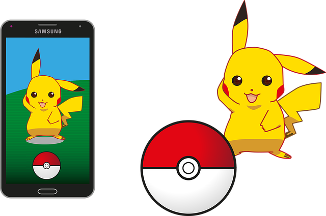Pokemon, Pokemon Go, Pikachu, Pokeball, Samsung, App