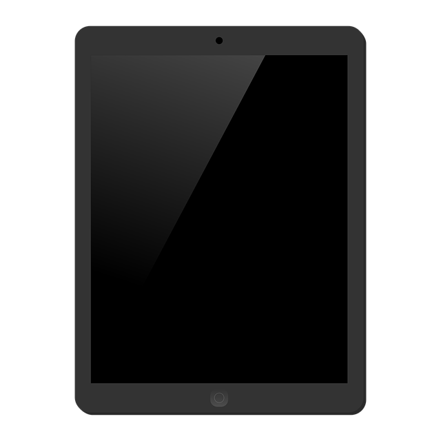 Tablet, Ipad, Homebutton, App, Software, Apple, Vector