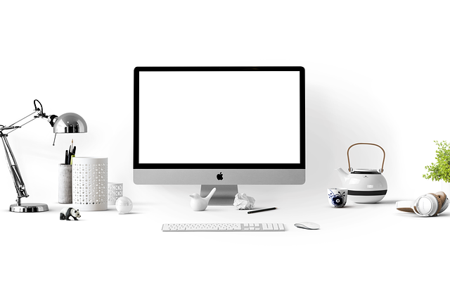Apple, Apple Devices, Simply, Mockup, Computer, Office