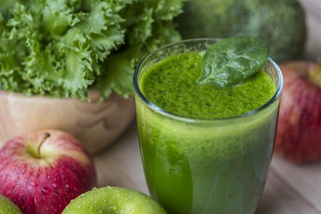 Antioxidant, Apple, Beverage, Broccoli, Closeup, Detox