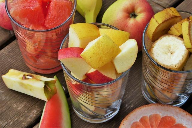 Fruit, Fruits, Fruit Salad, Apple, Cut, Grapefruit