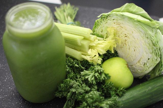 Green Juice, Cabbage, Apple, Green, Celery, Parsley