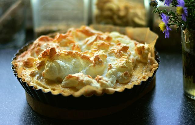 Apple Tart, Apple Pie, Meringue, Meringue Foam, Protein