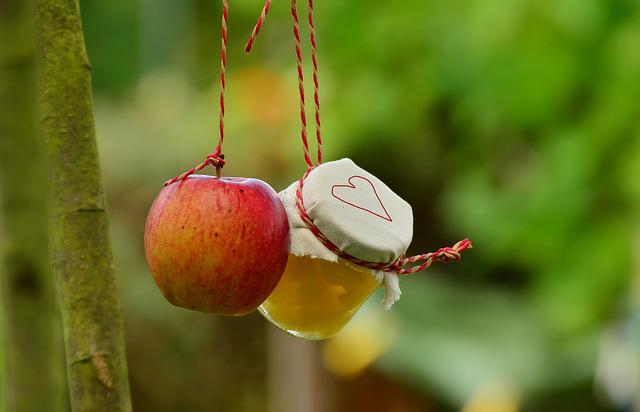 Apple Tree, Apple, Apple Compote, Jar, Garden, Fruit