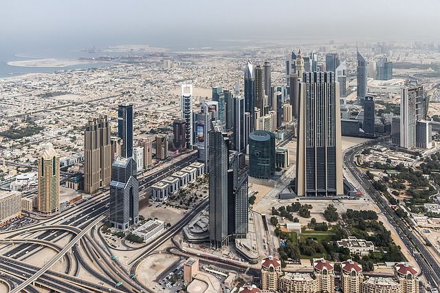 Dubai, City, Cityscape, Skyscraper, Buildings, Arab