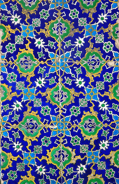 Abstract, Arabesque, Mosaic